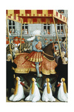 Louis XII Entering Genoa, Miniature from the Voyage to Genoa Giclee Print