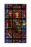 Window W203 Depicting the Adoration of the Magi Giclee Print