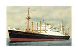 Dampfer M.V. Noordam, Holland America Line Giclee Print