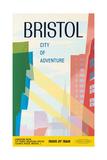 Bristol, City of Adventure, 1961 Giclee Print