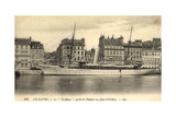 Messageries Maritimes, MM, Dampfer Le Pacifique Giclee Print