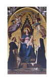 Madonna and Child with Saints in Cathedral of Alba, Italy, 15th-16th Century Giclee Print