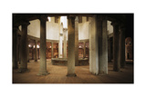 General View of Interior, Basilica of St Stephen in Round on Celian Hill, Rome, Italy, 5th Century Giclee Print