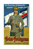 Poster Advertising Feist Champagne, 1917 Giclee Print