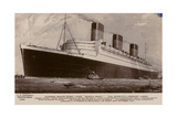 Cunard White Star Line Liner RMS Queen Mary Giclee Print