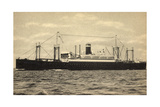 United States Lines, USL, S.S. President Roosevelt Giclee Print
