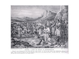 Manuel I, after His Defeat at Myriokephalon 1176 AD Giclee Print by Arthur Kemp Tebby