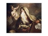 Prophet Isaiah Giclée-tryk af Antonio Balestra
