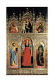 Polyptych of St Jerome, 1441 Giclee Print by Antonio Vivarini