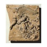 Angel– Jäger der Finsternis Giclée-Druck von Andrea del Verrocchio