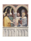St George Disputing with Diocletian, Scene Taken from Episodes from Life of St George Giclée-Druck von  Altichiero