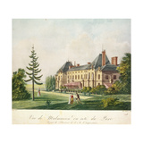 View of Malmaison from the Park, C.1790-1810 Giclee Print by Antoine Pierre Mongin