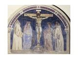 Crucifixion, Fresco Giclee Print by Andrea Del Castagno