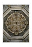 Interior of Dome of Church of St Mary of Loreto Giclee Print by Cesare Mariani