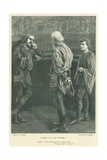Illustration for Hamlet Gicleetryck av Hopkins, Arthur