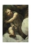 Cherub Giclee Print by Antonio Allegri Da Correggio