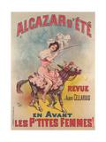 Alcazar D'Ete Poster Giclee Print by Candido Aragonez de Faria