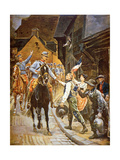 The French Return to Alsace-Lorraine, 1915 Giclee Print by Alphonse Lalauze