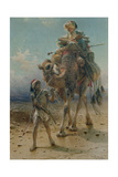 Crossing the Desert, 1869 Giclee Print by Carl Haag