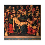 The Deposition, 1516 Giclee Print by Bernardino Luini