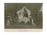 Death of Napoleon I Giclee Print by Charles Auguste Steuben