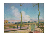 The Goods Station Giclee Print by Alfred Sisley