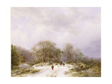 On the Way to Market 99 Giclee Print by Barend Cornelis Koekkoek