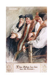 Three Bishops Have Been Here This Forenoon Giclee Print by Charles Edmund Brock