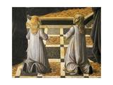 Saint Monica Giclée-Druck von Andrea del Verrocchio