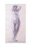 Female Figure with Arms Raised Giclee Print by Antonio Canova