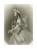 Lady Clementina Villiers Giclee Print by Alfred-edward Chalon