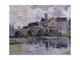 The Bridge of Moret-Sur-Loing, 1887 Giclee Print by Alfred Sisley