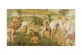 Young Women Bathing Giclee Print by Bernardino Luini
