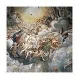 Assumption of Virgin, Dome, 1526-1530 Giclee Print by Antonio Allegri