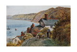 Clovelly Bay Giclee Print by Alfred Robert Quinton