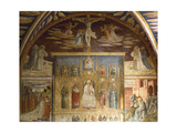 Cycle of Frescoes Depicting Life of Christ and St Jerome, 1452 Giclée-tryk af Benozzo Gozzoli