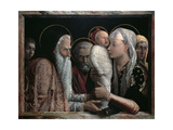 Presentation in Temple Giclee Print by Andrea Mantegna
