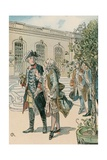 Frederick the Great Giclee Print by Carl Rohling