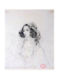 George Sand Giclee Print by Alfred de Musset