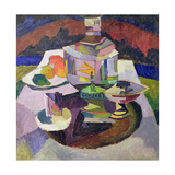 Still Life with Samovar, 1913 Giclee Print by Aristarkh Vasilievic Lentulov