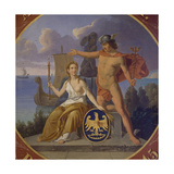 Mercury and Glory, July 8, 1845 Giclee Print by Anders Borch