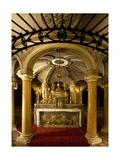 Crypt with Frescoes Giclée-Druck von Antonio Maria Viani
