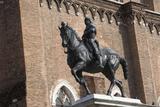 Statue of Bartolomeo Colleoni Fotografisk tryk af Andrea del Verrocchio