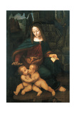 Madonna with Child Giclee Print by Bernardino de' Conti