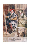 I Oft Sitt for an Hour or More Watching Hans Holbein at His Brush Giclee Print by Charles Edmund Brock