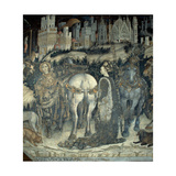 St George and the Princess, 1433-1438 Giclee Print by Antonio Pisanello