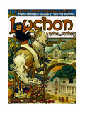 Poster for Trains to Luchon, France, 1895 Giclee Print by Alphonse Mucha