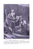 Samuel Annoints Saul Circa 130 BC Giclee Print by Benjamin Constant