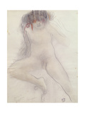 Nude Giclee Print by Auguste Rodin