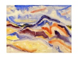 Abstract Landscape, 1915 Reproduction procédé giclée par Charles Demuth